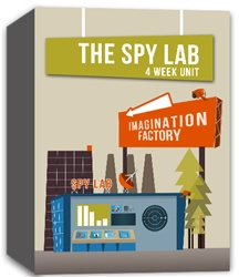 Imagination Factory: Spy Lab Month Unit